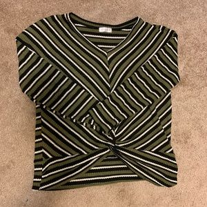 V neck thermal shirt
